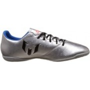 Adidas MESSI 16.4 IN Men Football Shoes(Grey)