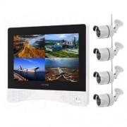Övervakning NVR system Kamera Kit NVR-M420-YH, 4 st 2.0 MP HD kameror