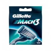 Gillette Mach3 rezerve aparat de ras 8 buc pentru bărbați