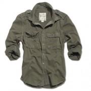 Koszula RAW Vintage oliv Surplus 06-3591-05 brązowo-zielona