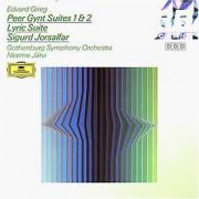 Neeme Järvi - Peer Gynt Suites 1&2, Lyric Suite, Sigurd Jorsalfar - Preis vom 11.08.2020 04:46:55 h