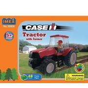 Case Magnum 190 Tractor W Farmer Figure