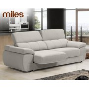HOME Sofá de piel Miles de Losbu