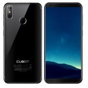 [HK Stock] CUBOT R11 2GB+16GB Dual Back Cameras Fingerprint Identification 5.5 inch Android 8.1 MTK6580 Quad Core up to 1.3GHz Network: 3G Dual SIM(Black)