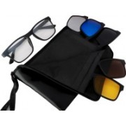 REACTR Rectangular Sunglasses(Multicolor)