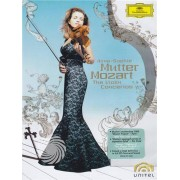 Video Delta Anne-Sophie Mutter, Camerata Salzburg - Anne-Sophie Mutter - Mozart: the violin concertos - DVD