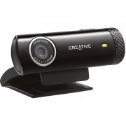 Creative Live Cam Chat HD HD-webcam 1280 x 720 pix Standvoet, Klemhouder