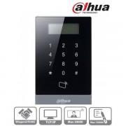 Dahua beléptető vezérlő - ASI1201A (LCD, RFID(13,56MHz)+kód, RS-485/Wiegand/RJ45, I/O)