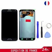 Écran Lcd + Tactile Vitre Affichage Neuf Pour Samsung Galaxy S5 Neo Sm-G903f Noir + Set Outils