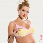 Op en Top Zwanger Voedingsbeha Positiebh Mango Mousse