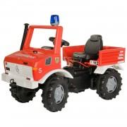 Rolly toys trapauto rollyunimog fire junior rood