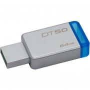 KINGSTON Memoria USB 64GB DataTraveler Metalica DT50/64GB