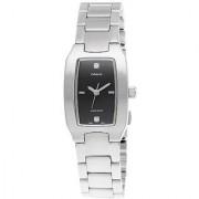 Casio Quartz Black Rectangle Women Watch LTP-1165A-1C2DF(A557)