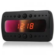 Ceas desteptator cu camera HD 1080P functie detectare a miscarii si vedere nocturna