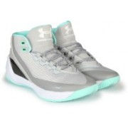 Under Armour UA CURRY 3.0 Basketball Shoes For Men(Grey)