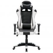 oem Cadeira de Escritório Racing Gamer Branca/Preta
