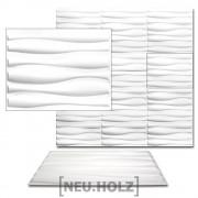 3D Панел за стенна декорация [neu.haus]® ,с мотиви, 62,5 x 80 cm, 6m²