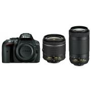Nikon D5300 AF-P 18-55 VR AF-P 70-300VR VBA370K015 KIT DSLR Digitalni fotoaparat Camera with 18-55mm f/3.5-5.6 and 70-300mm Lens 70-300 f/4.5-6.3 VR objektiv APS-C DX VBA370K015