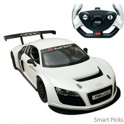 Smart Picks Officially Licensed Electric 1:14 Scale Full Function Audi R8 LMS Remote Control Car