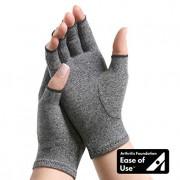 IMAK Compression Arthritis Gloves- Premium Arthritic Joint Pain Relief Hand Gloves for Rheumatoid & Osteoarthritis - Ease of Use Seal from Arthritis Foundation,Medium