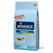 Advance Medium Light pollo - 2 x 12 kg - Pack Ahorro
