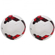 Premier League Red/Purple Football (Size-5) - Pack of 2 Footballs