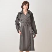 東京ソワール テーラードカラーレインコート【QVC】40代・50代レディースファッション