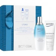 Biotherm Perfumes L'Eau Gift set Eau de Toilette Spray 100 ml + Lait de Douche 75 ml 1 Stk.