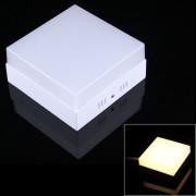 12w 900-960 Lm 3000k Square Led Panel De Luz De Techo Luz Plana, Ac 85 - 265v (blanco Calido)
