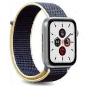 PURO Apple a Watch Band - Nylon Apple a ceas curea de 42/44 mm (albastru)