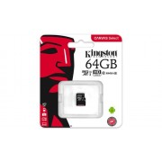Memorija Micro SD 64GB Kingston, Canvas Select UHS-I, SDCS/64GBSP