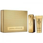 1 Million - Paco Rabanne CONFEZIONE REGALO fragranza 100 ml EDT SPRAY + shower gel 100 ml