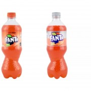 Pack de 24 Botellas 591ml Fanta Normal o Sin Azúcar
