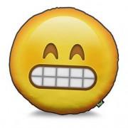 Almofada Emoji Sorriso Estridente Emoticon