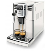 Espressor automat Philips EP5311/10, 3 bauturi, Sistem clasic de spumare, Rasnita ceramica, Filtru AquaClean, 1.8L, Alb