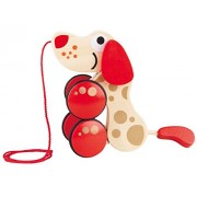 Hape Walk-A-Long Puppy Toy ((Special 30th Anniversary Edition))