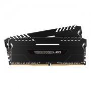 Memoire RAM Kit Dual Channel 2 barrettes CORSAIR VENGEANCE LED SERIES 16 GO (2X 8 GO) DDR4 2666 MHZ CL16 PC4-21300