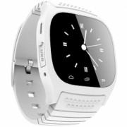 Smartwatch iUni U26 Bluetooth 1.5 inch BT Notificari Alb Bonus Bratara Roca Vulcanica unisex