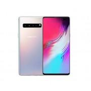 "Samsung Smartphone Samsung Galaxy S10 5g Sm G977b 256 Gb 6.7"" Octa Core Crown Silver 24 Mesi Garanzia Ufficiale"