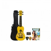 Rise by Sawtooth Beginner's Ukulele Pack Yellow (ST-RISE-UKE-MS-KIT-3)
