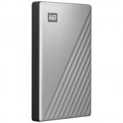 WD My Passport Ultra 1TB - USB-C - Silver (Windows)