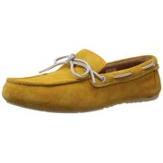 Clarks Men's Marcos Edge Mustard Sneakers - 10 UK