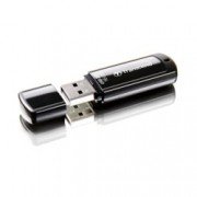 16GB USB Flash Drive, Transcend JetFlash 350, USB 2.0, черна