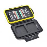 Ударопрочный кейс Strobo* JJC MC-CF4 Пыле-влагозащитный для карт памяти