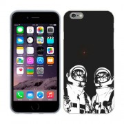 Husa iPhone 6S Plus sau iPhone 6 Plus Silicon Gel Tpu Model Astronaut Cats