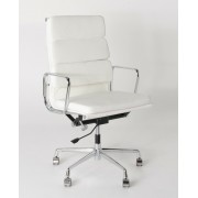 Replica Eames High-Back & Cushion-Back Office Chair - Italian Leather - various colours