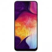 Смартфон Samsung Galaxy A50 (SM-A505F), Dual SIM, 6.4 инча (2340x1080), 4GB/128GB памет, LTE, 8-ядрен процесор, USB-C, бял, SM-A505FZWSBGL