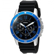 Fossil Analog Black Dial Mens Watch-FS5300