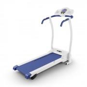Pacemaker X3 Passadeira Treadmill Monitor Ritmo Cardíado 3 Níveis De Inclinação Azul / Branco