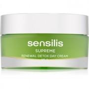 Sensilis Supreme Renewal Detox crema de día desintoxicante y regeneradora SPF 15 50 ml